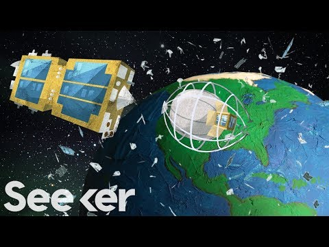 Scientists Impaled Space Junk With A Harpoon, Here's Why That Matters