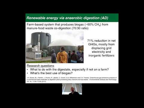 Innovation in Sustainable Energy: Food Waste and Fuel Cells