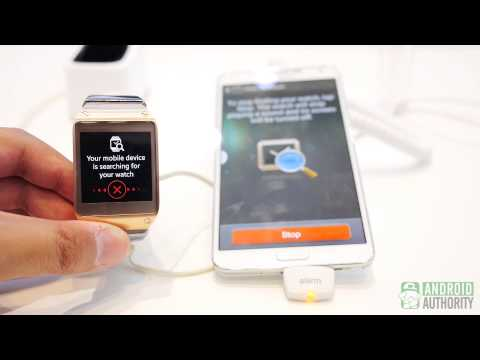 """Galaxy Gear/Note 3 """"find my device"""" feature"""