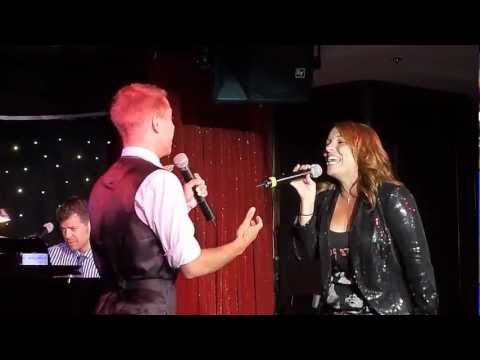 """Anne Steele & Ryan Lammer sing """"Suddenly Seymour"""" from Little Shop of Horrors on The Broadway Cruise"""