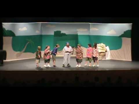 'Blackbeard the Pirate' Missoula Children's Theatre Play (Featuring the Barmettler's)