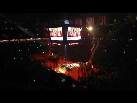 Raptors 2018-19 Home Opener - Team Introduction