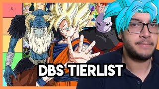 DBS: Mis personajes FAVORITOS de DRAGON BALL SUPER (Tierlist)