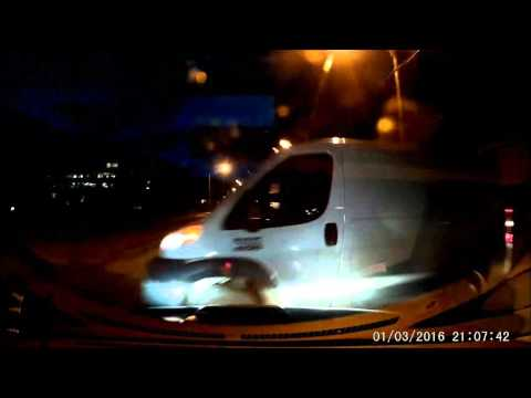 Progressive insurance Claim#16 3800433 video #1 ma mercedes