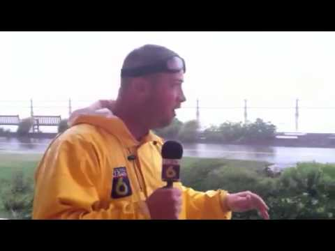 Jon Burkett's update on VA Beach's high tide and I...