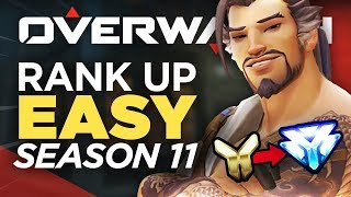 How to Get DIAMOND RANK in Season 11 - Overwatch Competitive Guide