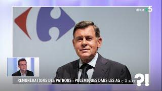 Rémunérations des patrons : polémiques dans les AG #cadire 15.06.2018