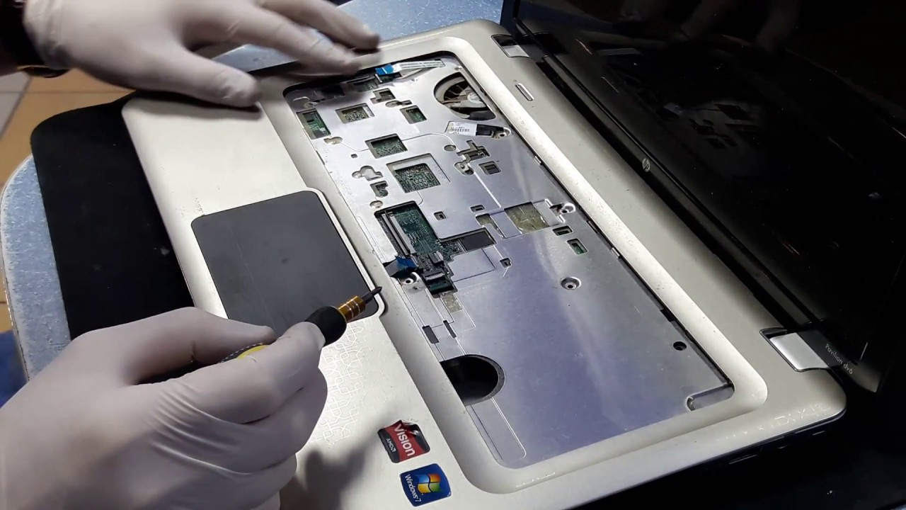 hp pavilion dv6 disassembly manual
