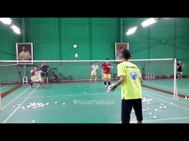 Agility drills: Attacking and smash