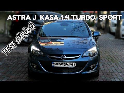 Astra J 1 4 Turbo Sport Otomatik Vites Test Surusu Turkce Youtube