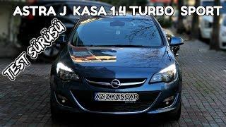 Astra J 1.4  Turbo Sport Otomatik Vites  - TEST SÜRÜŞÜ (Türkçe)