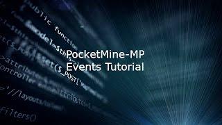 PocketMine-MP // Plugin Tutorial // Events