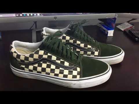 04d3a3a978 Shoe Review  Vans x Supreme  Checker   Corduroy  Authentic Pro (Ice ...