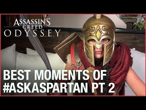 Assassin's Creed Odyssey: Best Moments of #AskaSpartan with Kassandra | Ubisoft [NA] thumbnail
