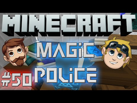 Minecraft Magic Police #50 - Black Aurem (Yogscast Complete Mod Pack)