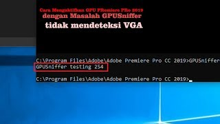 How to enable cuda gpu acceleration in adobe premiere pro