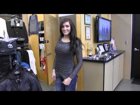 WRIF Rock Ashley Shops ABC Harley Davidson in Waterford - YouTube