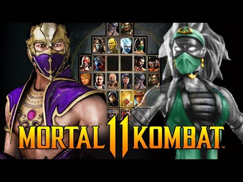 Mortal Kombat 11 - The Most Wanted Characters by Fans! - 56,000+ Votes!