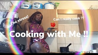 Cooking  With Me! | How To Cook Congolese Food/African food | Fumbwa
