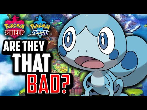 Are Pokemon Sword And Shield Really THAT Bad?