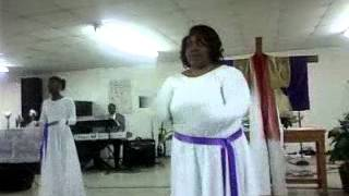 Angels of Praise dance to BeBe and CeCe Winans- Grace