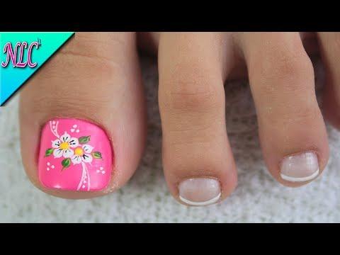 Free download decoraci n de u as para pies flores f cil de hacer flowers nail art nlc free - Decoracion facil de unas ...