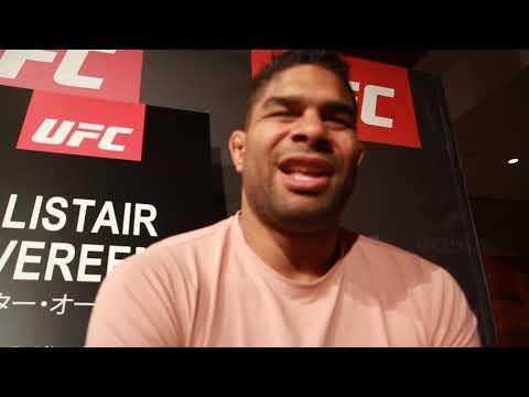Alistar Overeem UFC Japan Media Day Interview - MMA PLUS - Gazeta Esportiva