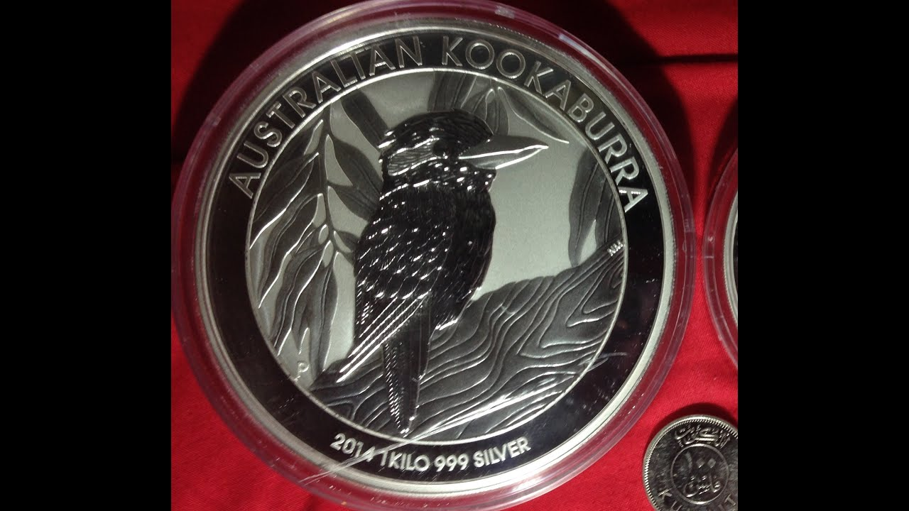 1 Kilo Australian Kookaburra 2014 Silver Coin Youtube