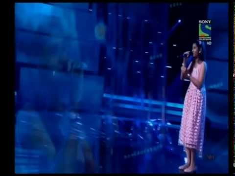 nithyashree indian idol juniors 2015 barso re bheega bheega 16th aug 2015