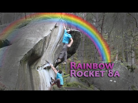 How To Rainbow Rocket - The Hardest Dyno I've Ever Done (8a/V11)