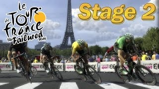 Pro Cycling Manager 2014 - Tour de France - TFW - Stage 2