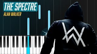 """Download Alan Walker - """"The Spectre"""" Piano Tutorial - Chords - How To Play - Cover Mp3"""
