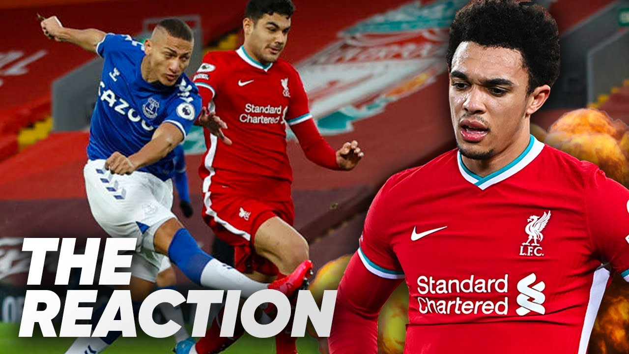 Liverpool vs. Everton: League champions fall to fourth straight ...