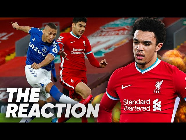 LIVERPOOL 0-2 EVERTON | KLOPP LOSES 4th HOME GAME IN A ROW | LIVE REACTION