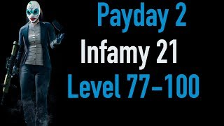 Payday 2 Infamy 21 | Part 3 | Level 77-100 | Xbox One