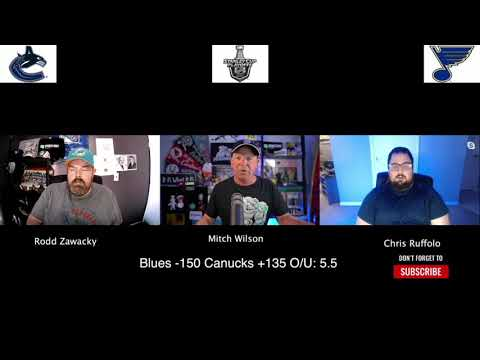 St. Louis Blues vs Vancouver Canucks 8/12/20 NHL Pick and Prediction Stanley Cup Playoffs