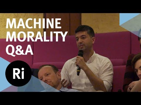 Q&A Robot Ethics in the 21st Century - with Alan Winfield and Raja Chatila