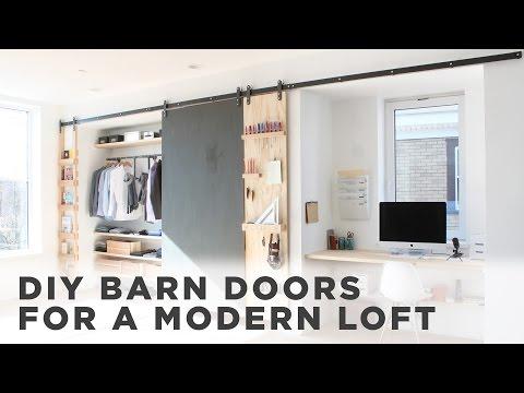 DIY Barn Door |How to install barn door hardware