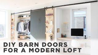 DIY Barn Door How to install barn door hardware