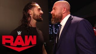 Seth Rollins wants the NXT Title: Raw, Nov. 4, 2019