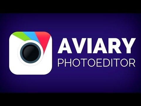 Фоторедактор от Aviary – Обзор за 60 секунд!