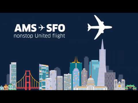 New United Service: Amsterdam (AMS) to San Francisco (SFO)