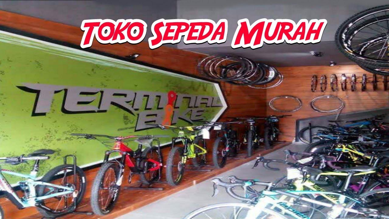 Daftar Toko Sepeda Murah di Surabaya - YouTube