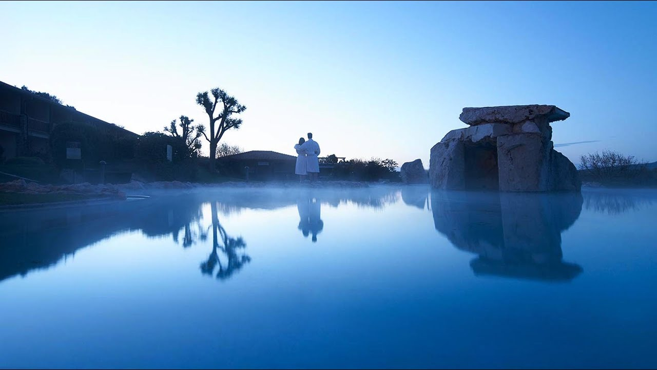 Hotel Adler Thermae Toscana ***** - YouTube