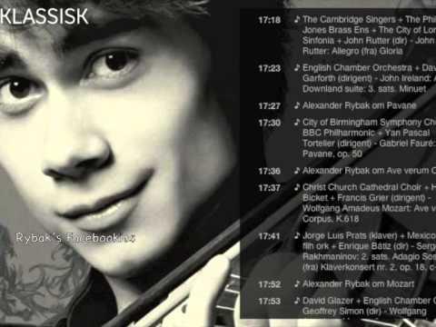 Alexander Rybak on Radio NRK Klassisk. 25.03.14