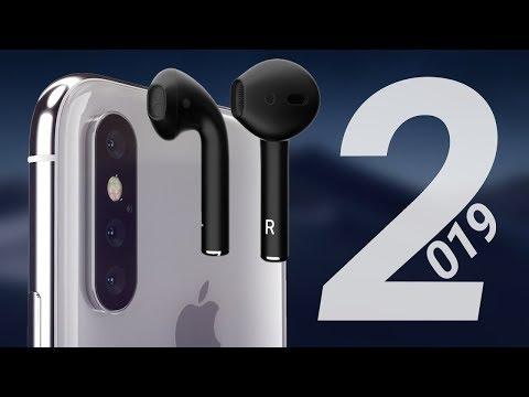 НОВЫЕ продукты Apple в 2019: AirPods 2, IPhone 11, модульный Mac Pro, IPad Mini 5 и другое!