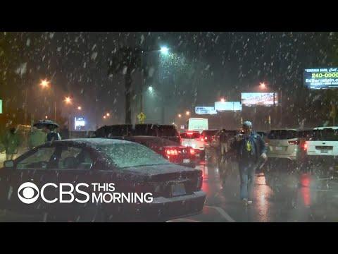 Winter storm slams southwest U.S.