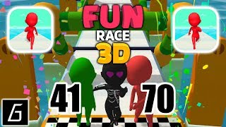Fun Race 3D - Gameplay - Levels 41 - 70 - (iOS - Android)