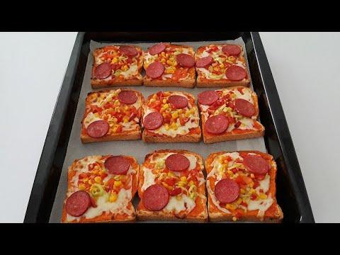 Sahura Bayat Ekmek Pizzası