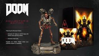 Обзор и распаковка DOOM Коллекционное Издание Collector's Edition